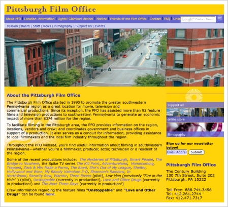 Pittsburgh Film Office