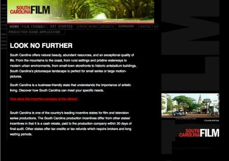 South Carolina Film Commission