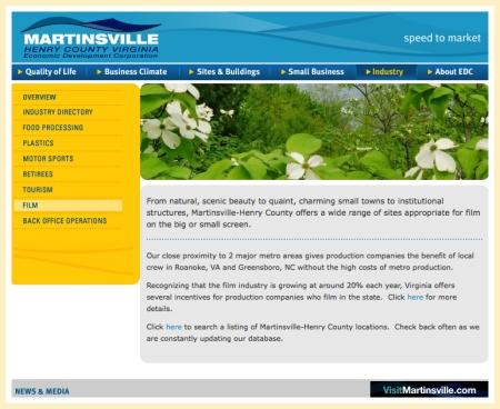 Martinsville Henry County Economic Development