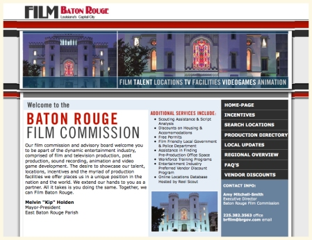 Baton Rouge Film Commission