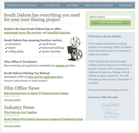 South Dakota Film Office