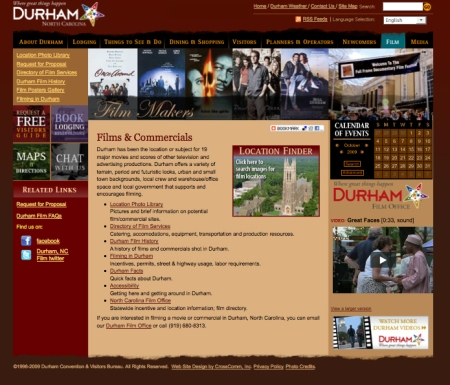 Durham Film Office