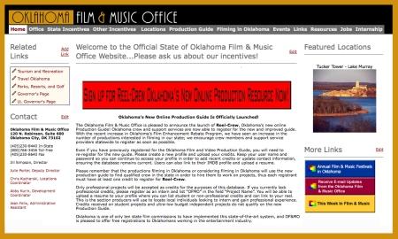 Oklahoma Film & Music Commission