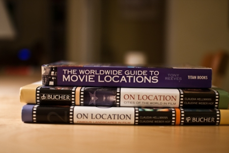 3 books on Film Locations