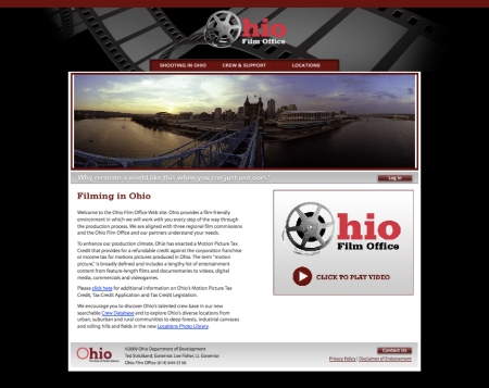 Ohio Film Office website