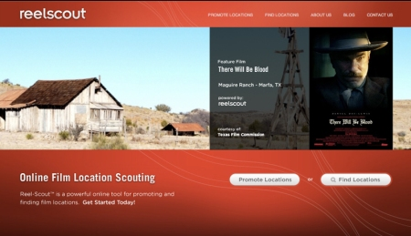 Reel-Scout's new site and blog